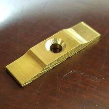 2 x 35mm BRASS TURN BUTTON CATCH LATCH Rabbit Hutch Shed Door Cage Cupboard