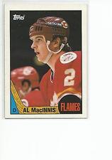 AL MacINNIS 1987-88 Topps Hockey card #72 Calgary Flames NR MT