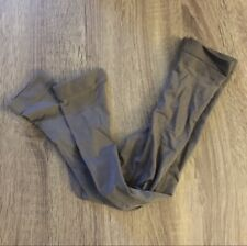 NWOT Express Gray Sheer Footless Tights