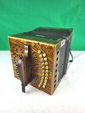 Stahltöne Instrument Bandoneon Bandonion Ziehharmonika Akkordeon als Deko ks280