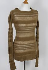 CALVIN KLEIN Ladies WOOL BLEND Knitted JUMPER - Size S - Small