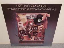 * Dick Hyman . Satchmo Remembered . Armstrong . Newman . Erwin . Davis . Jazz LP