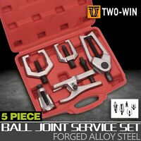 Ball Joint Remover Pitman Arm Puller Tie Rod Front End Separator Tool Kit 5pcs