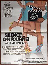 Affiche SILENCE.. ON TOURNE Elisabeth Huppert ROGER COGGIO 60x80cm *
