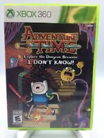 * XBOX 360 Game * ADVENTURE TIME EXPLORE THE DUNGEON BECAUSE I * US NTSC NOT UK