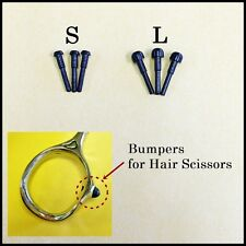 3L 3S Replacement Bumper Hair Scissors Barber Shears Parts Black Rubber Stopper