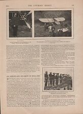 1909 AEROPLANE INVASION OF ENGLAND - BLERIOT
