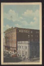 Postcard SUDBURY Ontario/CANADA  Nickle Range Tourist Hotel 1930's