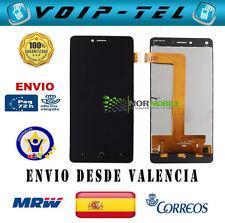 PANTALLA COMPLETA LCD DISPLAY CON TACTIL BQ U PLUS NEGRO ECRAN SHERMO