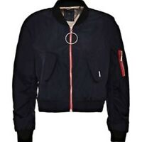 GUESS Cropped Bomber Jacket XS
