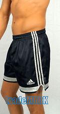 !!RARE!! Adidas Satin Soccer Shorts BLACK (WAISTBAND STRETCHED A BIT) LARGE