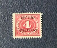 sello USA Future delivery, 4 cent stamped EE.UU. sin usar