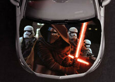 Kylo Ren Full Color Sticker Car Hood Star Wars, Vinyl Graphics Decal Wrap PN361
