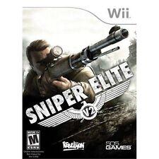 NEW Sniper Elite V2 (Nintendo Wii U, 2013) NTSC