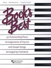 Bock's Best Volume 1 Sheet Music Piano Solo NEW 008738352