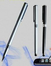 iPen2x - Combo Stylus and Ink Cap Pen-SILVER-iPad ,iPhone, iTouch, DROID,Tablet