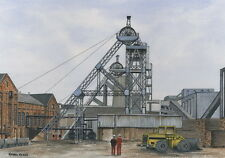 Hatfield Colliery - 1911 - 1993 - Ltd Ed Print - Pit Pics - Coal Mining