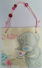 ME TO YOU LOVELY NAN WOODEN GIFT TAG  - Grandma Grandmother