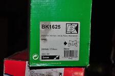 kit frein arrière trw:bk1625; opel,vauxhall ; 200x45