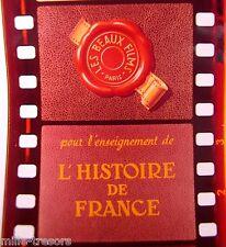 FILM Images Fixes DOCUMENTAIRE Ecole : HISTOIRE de FRANCE - L'ART du MOYEN AGE
