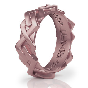 Women's Silicone Ring Space collection. Soft, Comfortable & Durable Wedding Band