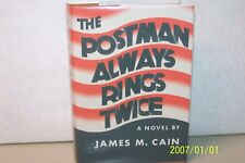 The Postman Always Rings Twice James M.Cain hardcover W/jacket (facsimile) novel