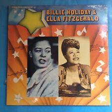 Billie Holiday & Ella Fitzgerald-1974 MCA COMP 2XLP  M/M  FACTORY SEALED