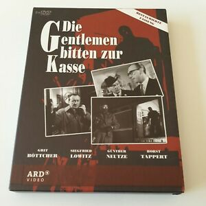 Die Gentlemen bitten zur Kasse - Teil 1-3 (2DVDs)(Horst Tappert, Günther Neutze)