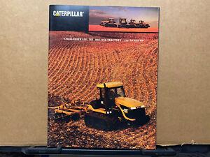 Caterpillar 65E 75E 85E 95E Tractors Brochure/Catalog 1998