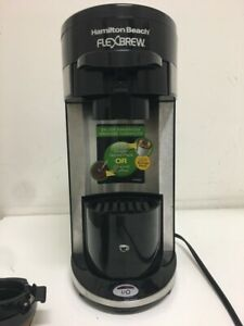 Hamilton Beach FlexBrew A93 1 Cup Coffee & Espresso Maker K-Cups + ground