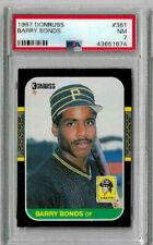 1987 Donruss Barry Bonds #361 PSA 7
