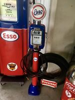 Vintage Eco  Air Meter Gas Oil Esso  Restored With Lights Gas Station