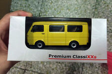 New 1/43 Scale DieCast Model - Premium ClassiXXs VW LT28 Kastenwagen Yellow