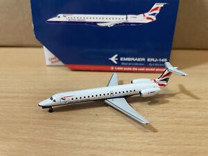 British Airways ERJ-145 1:400 (Reg G-EMBX) GJBAW619 Gemini Jets