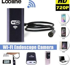 WiFi 8 mm IP67 Endoscope Endoscope serpent Inspection caméra portée Android iPhone