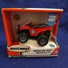 Matchbox Rescue Net Motorized A.T.V #88438