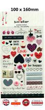 Suatelier Romance Love Heart Deco Stickers Diary Scrapbooking DIY iPhone P039