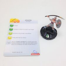 Heroclix The Brave and the Bold set Amazon #005 Common figure w/card!