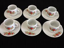 2 oz Cuban Espresso coffee cup set. 12 pc cup and saucer. Tacita Cafesito ,,,,