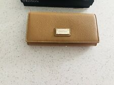 Oroton Slim Wallet Caramel/Tan
