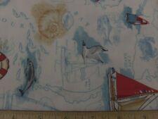 Nautical Sea Chart by The Henley Studio/Makower UK-#692/3.5yds./100% Cotton