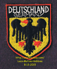 LMH PATCH Badge  DEUTSCHLAND  Bundesadler GERMANY German COAT ARMS Federal Eagle