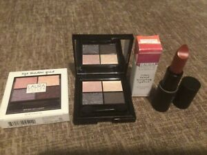 LAURA GELLER Eye Shadow Quad & Iconic Baked Sculpting Lipstick Duo
