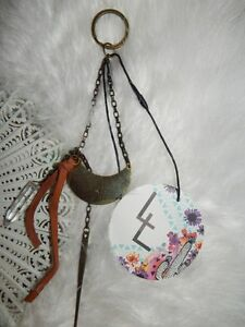 Free People Love and Leather Misty Nights Keychain-$28 MSRP