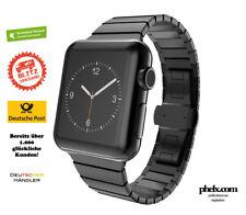 Apple Watch SERIES 5 (44mm) GLIEDER Armband SCHWARZ  | Nur Band