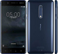 Nokia 5 TA-1053 16GB - Tempered Blue (Unlocked) Smartphone (Dual SIM) 4G LTE UK
