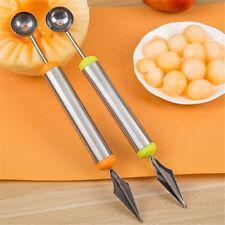 Cuchara acero inoxidable talla cortador frutas melón bola cucharada