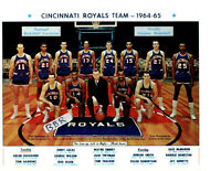 1964 1965 CINCINNATI ROYALS  8X10 TEAM PHOTO  BASKETBALL NBA LUCAS ROBERTSON HOF