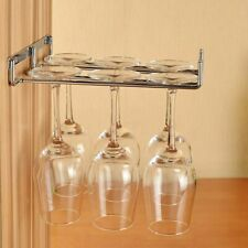 Wine Cup Rack Hanging Metal Wine Stemware Glass Bottle Goblet Inverted Holder