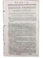 Arnay le Duc en 1791 Hericy Moret Loing Carpentras Vaucluse Cote d'Or Avignon